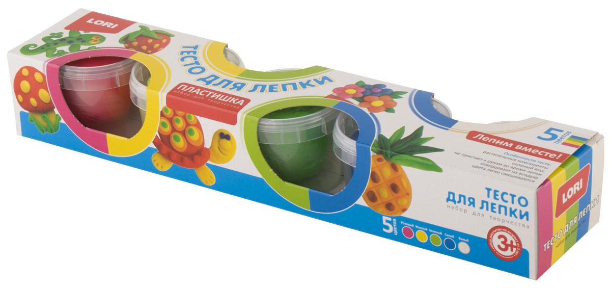 Lori ПЛАСТИШКА. Тесто для лепкиТдл-015Лепка из соленого теста различных цветов - одно из самых увлекательных занятий для ребенка, являющееся более простым способом изображения по сравнению с рисованием. Свойство теста затвердевать позволяет использовать готовые фигурки в играх. Тесто является соленым, содержит только растительные компоненты, цвета легко смешиваются, затвердевает на воздухе, не пристает к рукам во время лепки.