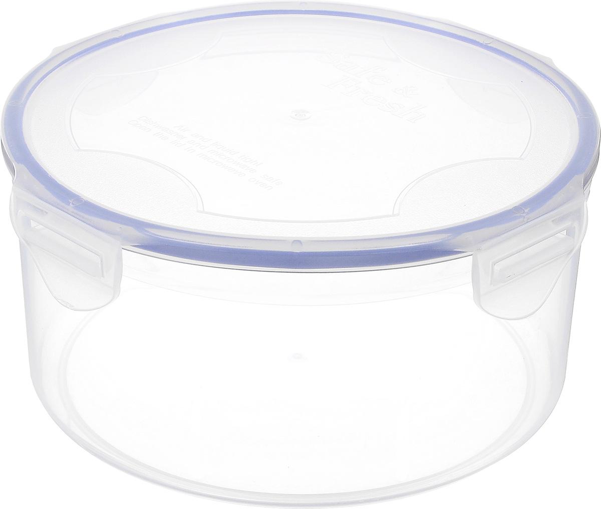 Контейнер пищевой Tek-a-Tek, 500 млSF6-1Пищевой контейнер Tek-a-Tek выполнен из высококачественного пластика. Изделие оснащено четырехсторонними петлями-замками и силиконовой прокладкой на внутренней стороне крышки. Это позволяет воде и воздуху не попадать внутрь, сохраняется герметичность. Изделие абсолютно нетоксично при любом температурном режиме. Можно использовать в посудомоечной машине, а так же в микроволновой печи (без крышки), замораживать до -20°С и размораживать различные продукты без потери вкусовых качеств.