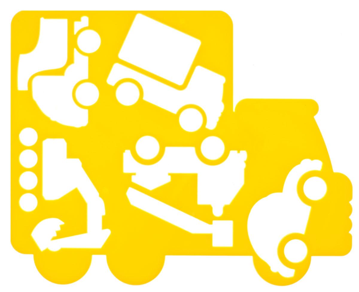 Луч Трафарет фигурный Автомобили цвет желтый18С 1210-08_желтыйТрафарет фигурный Луч Автомобили, выполненный из безопасного пластика, предназначен для детского творчества. При помощи этого трафарета ребенок может нарисовать большой автомобиль-грузовик, а также пять маленьких машин разных видов и назначений. Трафарет можно использовать для рисования отдельных машинок и композиций из них, а также для изготовления аппликаций. Трафареты предназначены для развития у детей мелкой моторики и зрительно-двигательной координации, навыков художественной композиции и зрительного восприятия.