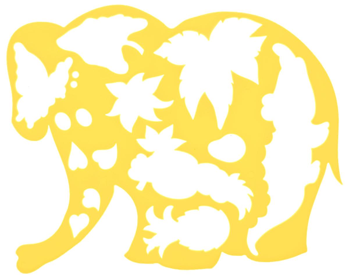 Луч Трафарет фигурный Слоник в джунглях цвет желтый17С 1145-08_желтыйТрафарет фигурный Луч Слоник в джунглях, выполненный из безопасного пластика, предназначен для детского творчества. При помощи этого трафарета ребенок может нарисовать забавного слоника в диких джунглях. Трафарет можно использовать для рисования отдельных персонажей и композиций, а также для изготовления аппликаций. Трафареты предназначены для развития у детей мелкой моторики и зрительно- двигательной координации, навыков художественной композиции и зрительного восприятия.