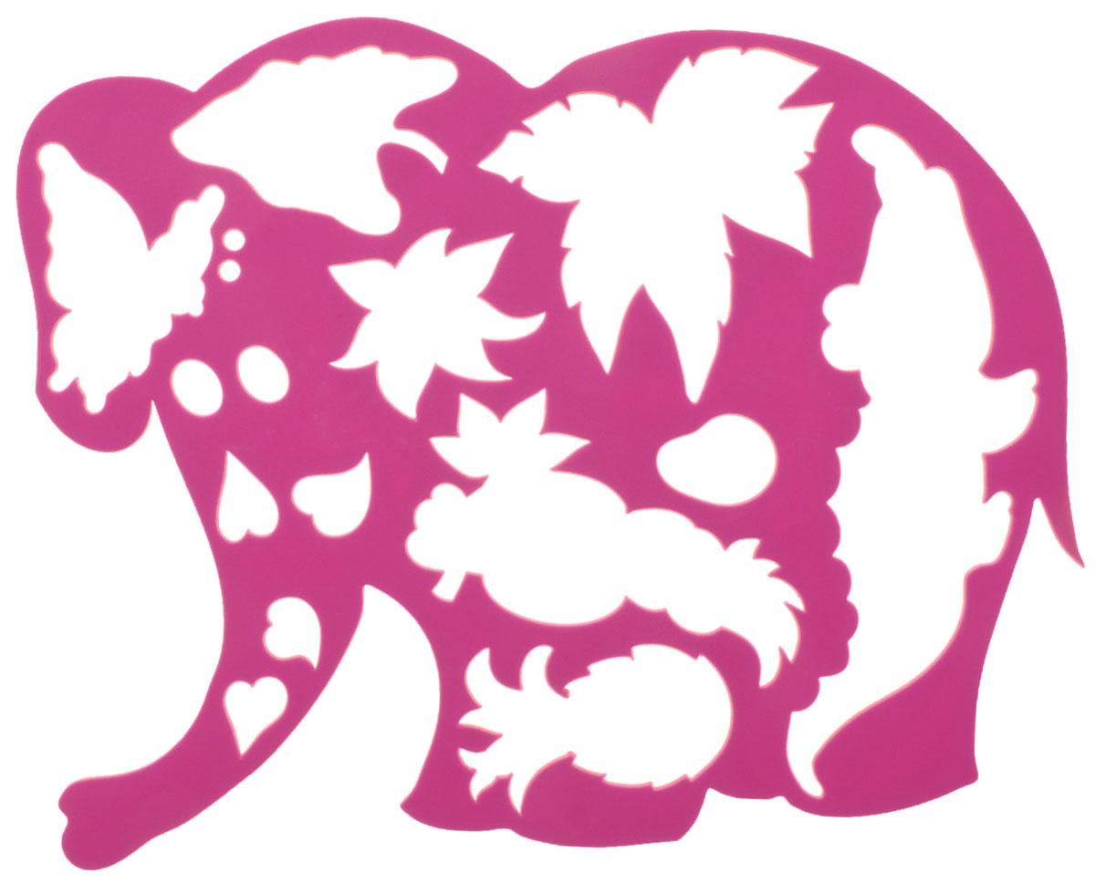 Луч Трафарет фигурный Слоник в джунглях цвет розовый17С 1145-08_розовыйТрафарет фигурный Луч Слоник в джунглях, выполненный из безопасного пластика, предназначен для детского творчества. При помощи этого трафарета ребенок может нарисовать забавного слоника в диких джунглях. Трафарет можно использовать для рисования отдельных персонажей и композиций, а также для изготовления аппликаций. Трафареты предназначены для развития у детей мелкой моторики и зрительно- двигательной координации, навыков художественной композиции и зрительного восприятия.