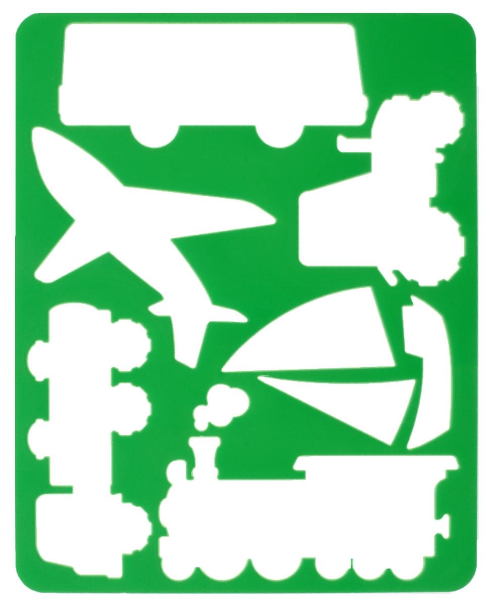 Луч Трафарет прорезной Виды транспорта цвет зеленый10С 528-08_молоко/зелёныйТрафарет Луч Виды транспорта, выполненный из безопасного пластика, предназначен для детского творчества. По трафарету маленький художник сможет нарисовать наземные, воздушные и водные виды транспорта. Для этого необходимо положить трафарет на лист бумаги, обвести фигуру по контуру и раскрасить по своему вкусу или глядя на цветную картинку-образец. Трафареты предназначены для развития у детей мелкой моторики и зрительно-двигательной координации, навыков художественной композиции и зрительного восприятия.