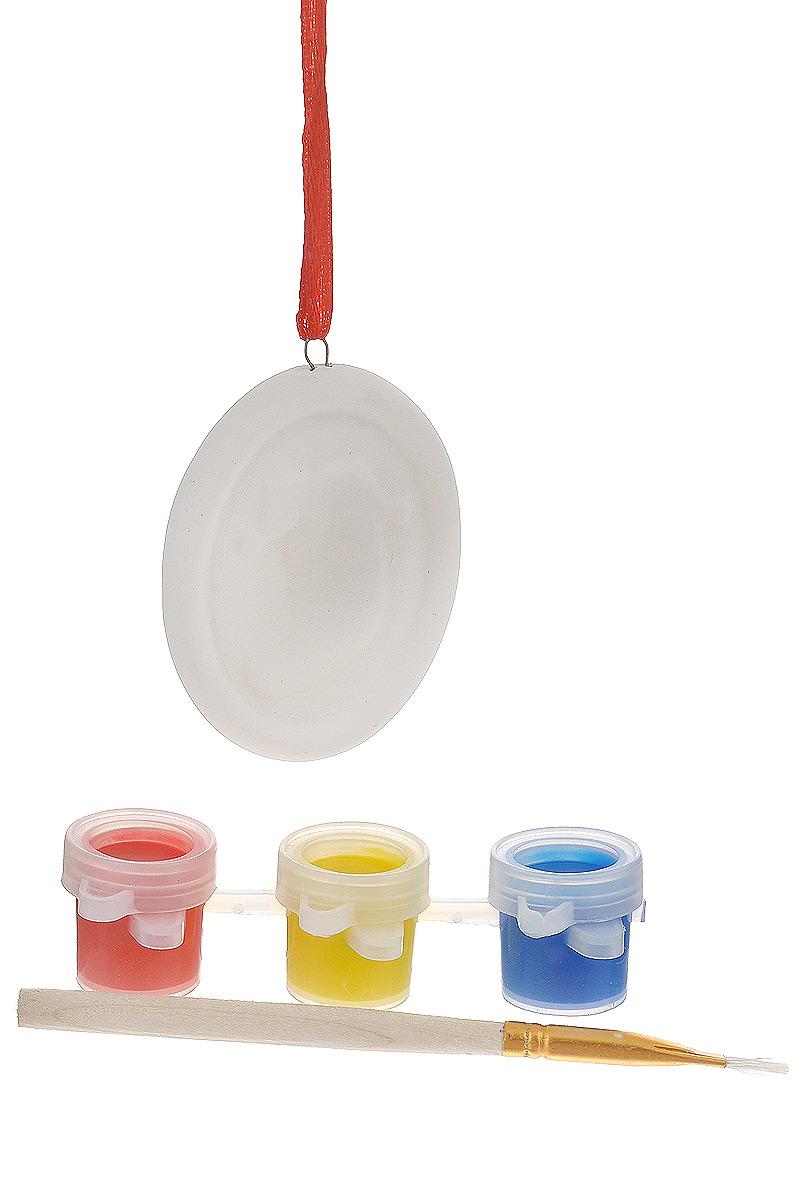 Новогодний набор для творчества Феникс-Презент. 3467034670Новогодний набор для творчества Феникс-Презент - это прекрасный подарок для детей, а также возможность самостоятельно создать елочную игрушку. В наборе подвесное украшение из доломитовой глины, украшенное рельефом в виде рождественского носочка, 3 акварельные краски и кисть. Украшение снабжено атласной ленточкой для подвешивания на елку. Елочная игрушка - символ Нового года. Она несет в себе волшебство и красоту праздника. Создайте в своем доме атмосферу веселья и радости, украшая новогоднюю елку нарядными игрушками, которые будут из года в год накапливать теплоту воспоминаний.