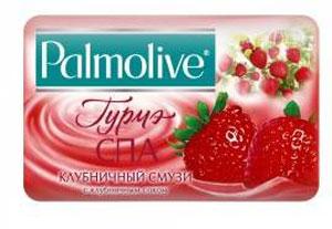 Palmolive Мыло туалетное Гурмэ СПА Клубничный Смузи, 90 г