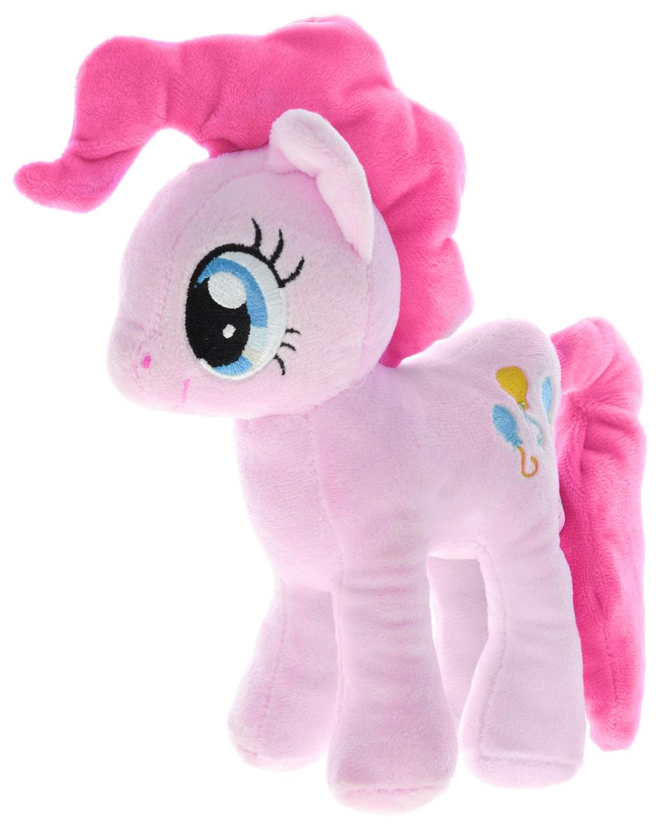 My Little Pony Мягкая игрушка Пони Пинки Пай цвет розовый 22 смMLPE1AМягкая игрушка My Little Pony Пони Пинки Пай выполнена в виде очаровательной пони розового цвета с длинным хвостом и роскошной гривой. Игрушка изготовлена из высококачественного текстильного материала. Пинки Пай - самая популярная игрушка для девочек, созданная по мотивам одноименного сериала. Яркая и красивая пони, безусловно, заинтересуют вашего ребенка и станет гарантией милой искренней улыбки, восторга и отличного настроения у вашего малыша. А ведь помимо этого с ней можно придумать столько забавных игр, или же создать ей новый образ. Пинки Пай - жизнерадостная и задорная пони, больше всего на свете она любит шутить и веселиться, но ее шутки всегда добрые и никто на них не обижается. Она живет и работает в кондитерской, и обожает сладости. А еще Пинки устраивает лучшие вечеринки в Понивилле! Великолепное качество исполнения делают эту игрушку чудесным подарком к любому празднику.