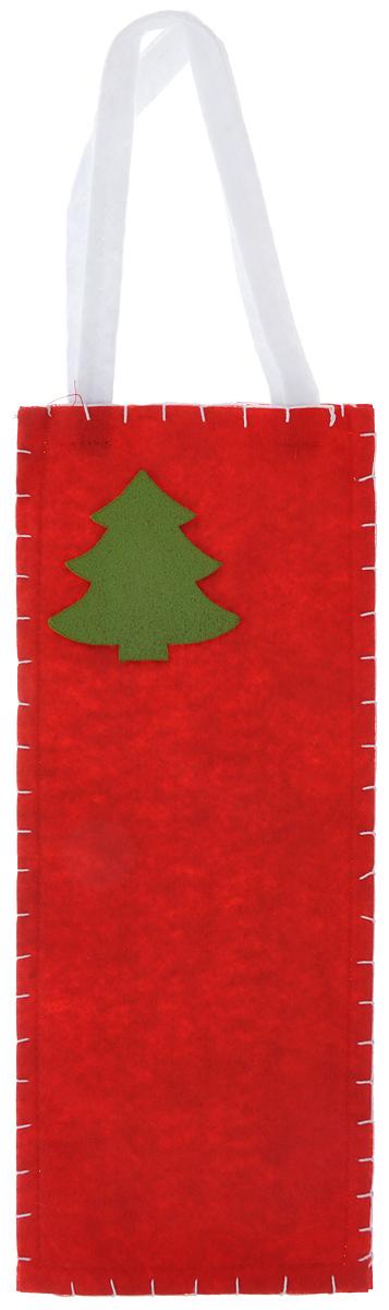 Новогодний мешочек для подарка Феникс-презент Новогодняя елка, цвет: красный, зеленый, 14 х 34 см38646Новогодний мешочек для подарка Феникс-презент Новогодняя елка, выполненный из синтетического фетра, оформлен изображением елочки. Для удобства переноски можно использовать ручки. Подарок, преподнесенный в оригинальной упаковке, всегда будет самым эффектным и запоминающимся. Окружите близких людей вниманием и заботой, вручив презент в нарядном, праздничном оформлении.
