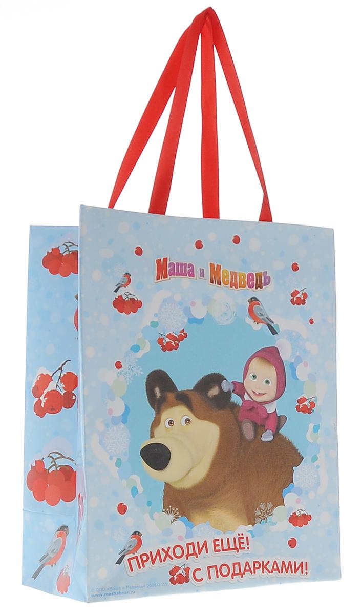 Маша и Медведь Пакет подарочный Маша зимой 23 см 18 см х 10 см28847Яркий подарочный пакет Маша и Медведь Маша зимой с очаровательной героиней мультфильма празднично украсит любой подарок. Для удобной переноски на пакете имеются две атласные ручки. Подарок, преподнесенный в оригинальной упаковке, всегда будет самым эффектным и запоминающимся. Окружите близких людей вниманием и заботой, вручив презент в нарядном, праздничном оформлении.