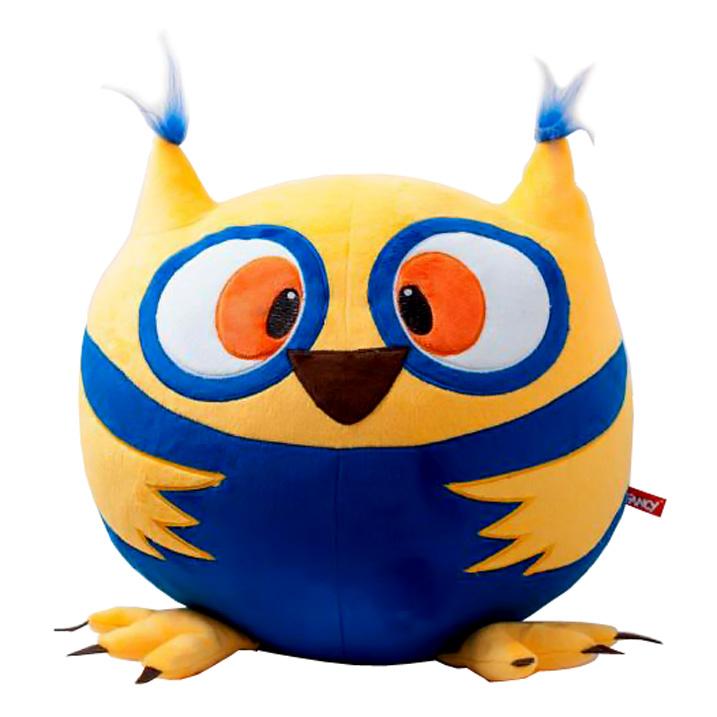 Fancy Мягкая игрушка Совушка Круглик 38 смKGS1Очаровательная мягкая игрушка Fancy Совушка Круглик, по форме напоминающая колобка, вызовет умиление и улыбку у каждого, кто ее увидит. Удивительно мягкая игрушка принесет радость и подарит своему обладателю мгновения нежных объятий и приятных воспоминаний. Великолепное качество исполнения делает эту игрушку чудесным подарком к любому празднику. Игрушки серии «Круглики» - станут прекрасным подарком не только подросткам, но и самым маленьким. С ними можно не только играть, но и использовать как пуф.