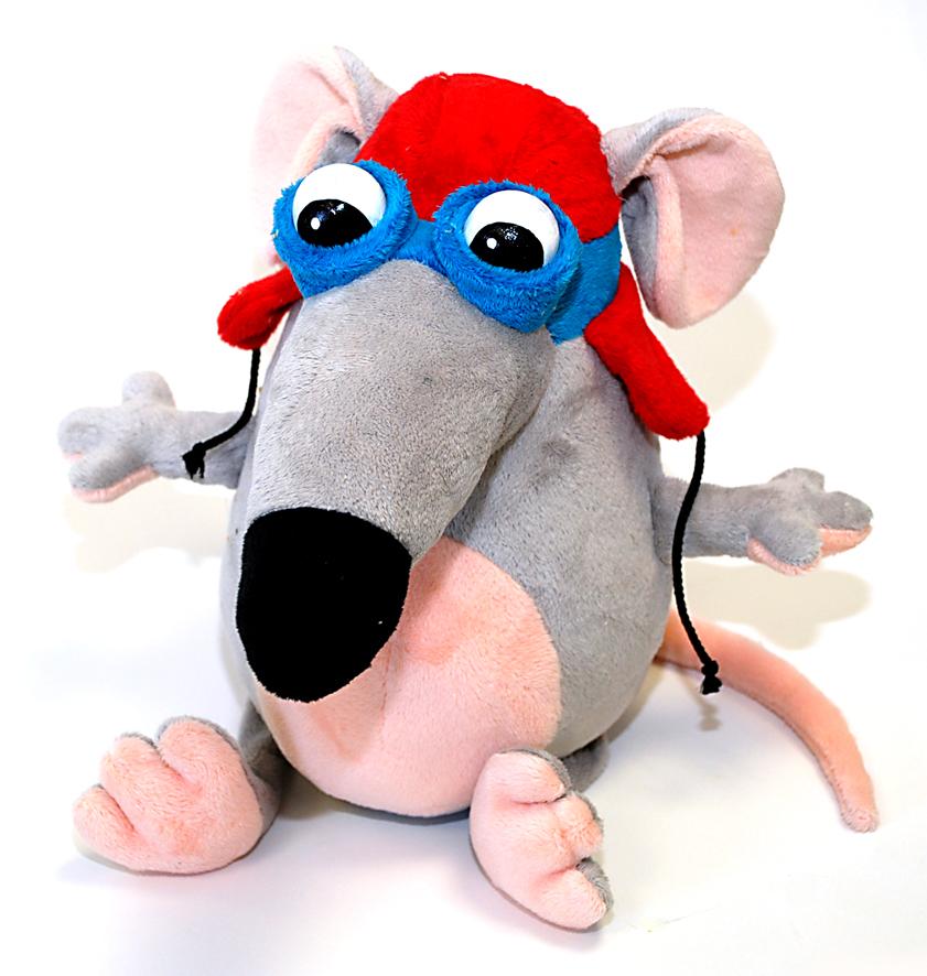 Fancy Мышка ПилотMIP0Игрушка мягконабивная