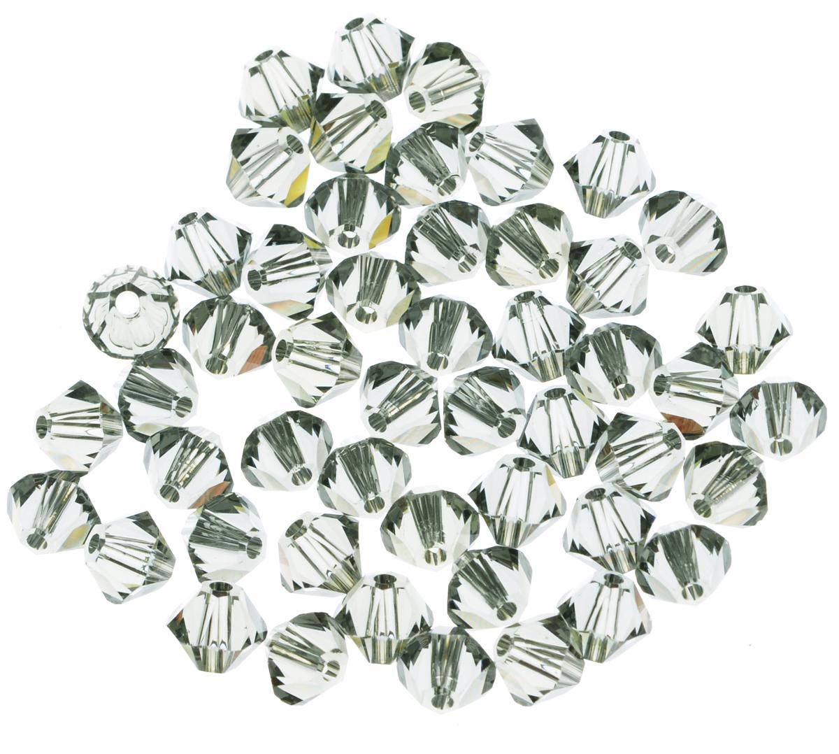 Бусины Swarovski Elements, цвет: серый (black diamond), диаметр 4 мм, 50 шт389027_black diamondНабор бусин Swarovski Elements, изготовленный из стекла, позволит вам своими руками создать оригинальные ожерелья, бусы или браслеты. Изготовление украшений - занимательное хобби и реализация творческих способностей рукодельницы, это возможность создания неповторимого индивидуального подарка.