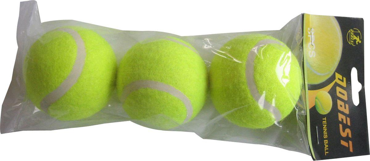 Мячи для большого тенниса DOBEST, 3шт, TB-GA03