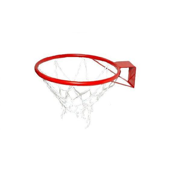 Кольцо баскетбольное №7 с сеткой, М-Торг, 45 см, красныйКб7Основные характеристики Размер: №7 (с упором) Диаметр (внутренний) кольца: 450мм Материал: сталь Покрытие: порошковое Цвет: красный В комплекте сетка баскетбольная Страна-производитель: Россия Упаковка: без индивидуальной упаковки Кольцо баскетбольное предназначено для установки его на баскетбольных щитах (игровых или тренировочных).