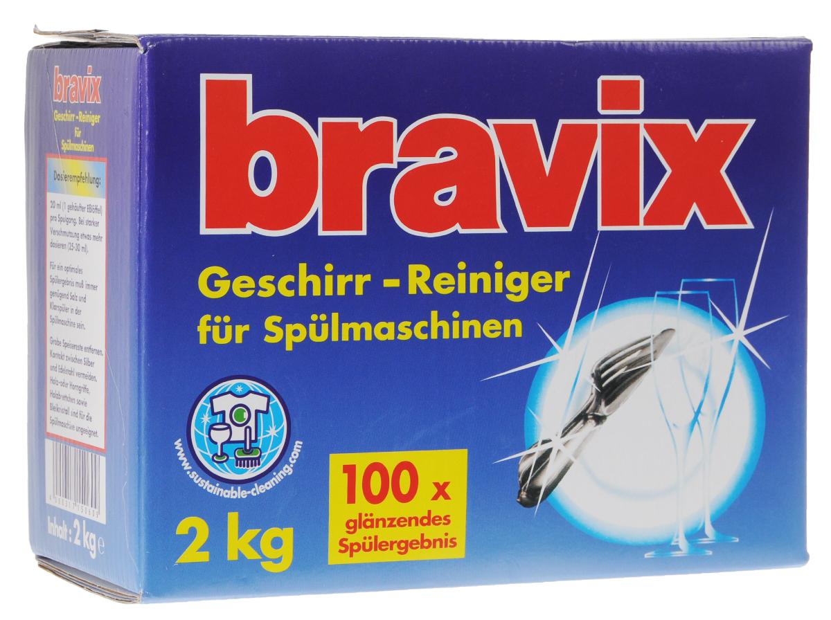 """Средство для мытья посуды Bravix """"Geschirr-Reiniger"""", 2 кг"""