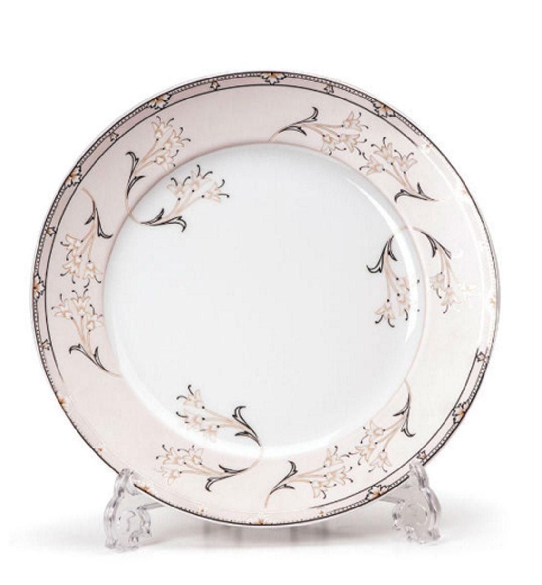 Набор десертных тарелок La Rose des Sables Isis, диаметр 19 см, 6 шт539114 1558Набор La Rose des Sables Isis состоит из шести десертных тарелок, выполненных из высококачественного фарфора. Изделия декорированы оригинальным принтом. Тарелки имеют круглую форму. Такой набор изящно украсит сервировку стола и порадует вас изящным дизайном. Диаметр (по верхнему краю): 19 см.