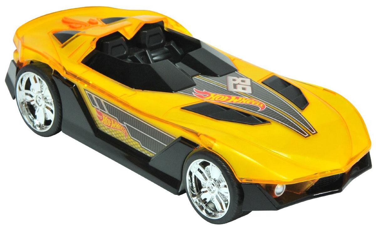 Hot Wheels Машинка Супергонщик цвет желтый