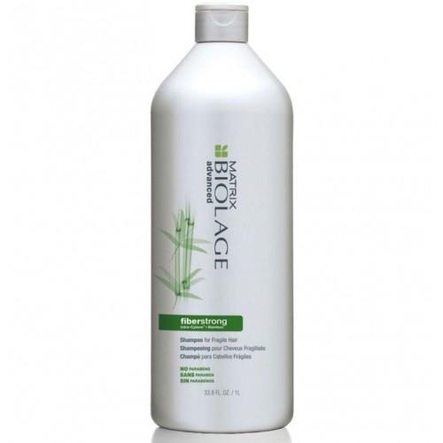 Matrix Biolage Fiberstrong шампунь 1000 млP0687600Шампунь Файберстронг бережно очищает волосы, придавая им упругость и здоровый, сияющий вид.