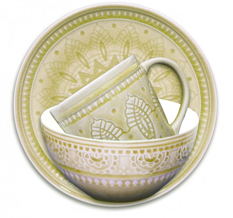 Набор подарочный, посуда столовая - 3 предмета, цвет: желтый, Тонго. S-03y TongoS-03y TongoНАБОР подарочный, посуда столовая - 3 предмета, Цвет: Желтый, материал: каменная керамика, Тонго, Индонезия