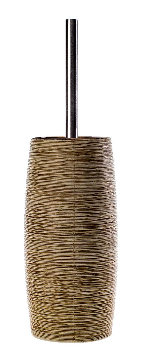 Ерш для унитаза Duschy Bees Light, с подставкой351-06Ерш для унитаза с подставкой Duschy Bees Light выполнен из керамики бежевого цвета. Прочная металлическая ручка и жесткий ворс обеспечивают эффективное использование. Подставка под ерш отличается легкостью и компактностью, имеет рельефную поверхность, при этом она устойчива. Такой набор станет достойным дополнением туалетной комнаты. Характеристики: Материал: керамика, металл. Цвет: бежевый. Размер подставки: 24 см х 10 см х 10 см. Длина ершика: 34 см. Размер упаковки: 26 см х 13 см х 13 см. Артикул: 351-06.