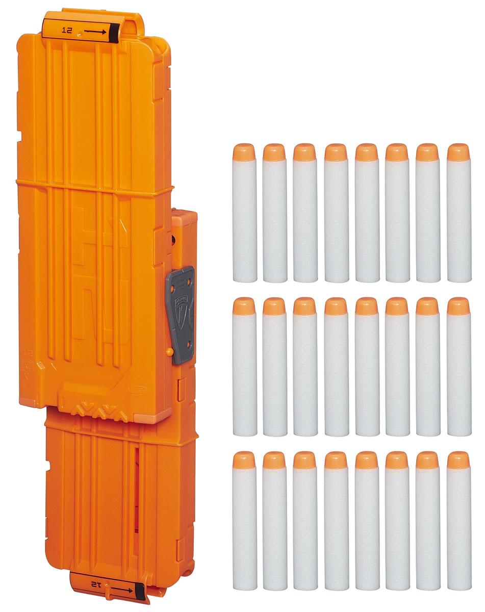 Nerf Modulus Set 1 Запасливый боецB1534EU4Модулус сет 1 Запасливый боец создан для усовершенствования бластеров серии Nerf Modulus. В комплекте есть все необходимые аксессуары, чтобы модернизировать ваш бластер Nerf N-Strike Modulus ECS-10 (приобретается отдельно). Комплект для усовершенствования бластеров Nerf включает в себя два обоймы на 10 стрел каждая, специальное крепление и стрелы Nerf Элит. Все стрелы снабжены мягкими наконечниками и безопасны при использовании. Теперь твой Модулус станет еще круче и ты сможешь перейти на новый уровень ведения боя.