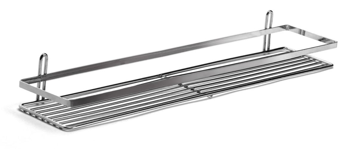 Полка подвесная Duschy Modern, 1 отделение064-00, 564-90Подвесная полка Duschy Modern выполненная из стали и покрытая специальным, влагозащитным полимерным покрытием, сэкономит место в ванной комнате. Полка подвешивается с помощью 2-х саморезов (входят в комплект). Она пригодится для хранения различных принадлежностей, которые всегда будут под рукой. Благодаря компактным размерам полка впишется в интерьер вашего дома и позволит вам удобно и практично хранить предметы домашнего обихода. Размер: 58 х 12 х 6 см.