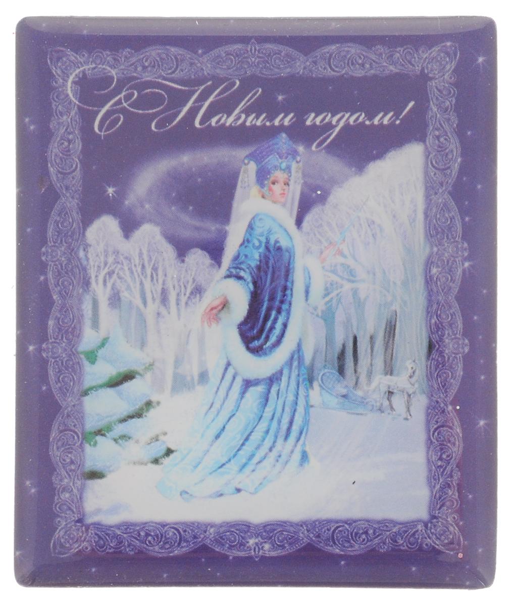 Магнит Феникс-Презент Снежная королева, 6 x 5 см34837Магнит прямоугольной формы Феникс-Презент Снежная королева, выполненный из агломерированного феррита, станет приятным штрихом в повседневной жизни. Оригинальный магнит, декорированный изображением снежной королевы и надписью С Новым годом, поможет вам украсить не только холодильник, но и любую другую магнитную поверхность. Материал: агломерированный феррит.