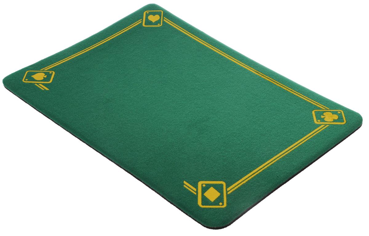 Коврик фокусника с напечатанными тузами Di Fatta Magic, цвет: зеленыйФ-3781Отличное качество VDF, но с одной деталью, что делает его еще более интересным: напечатанные четыре туза - по одному на каждом углу. Состоит из двух слоев: нескользящей резины, и мягкой ткани. Высокое качество по низкой цене. Не скользит. Не рвется. Прослужит всю жизнь. Размер 40 см x 27 см