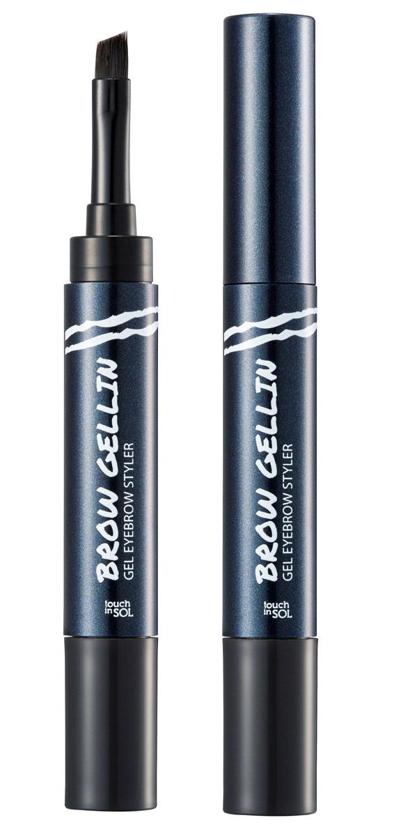 Touch in SOL Гель для бровей, №3 Monica8809268154959Безупречные натуральные брови в 3 простых шага при помощи геля для бровей. Оригинальная упаковка со встроенной кистью и гелиевой основой моментально подчеркнет, заполнит и придаст форму Вашим бровям. Водостойкая формула не смазывается, сохраняя законченный образ в течение всего дня. Преимущества: Стойкий цвет, водостойкая, не смазывающаяся формула; Заполняет и придает форму бровям; Создает естественный образ подчеркивая брови; Гелиевая формула; Кисточка и основа в одной упаковке. Цвет: #1 – Phoebe для блондинок #2 – Rachel для шатенок #3 – Monica для брюнеток
