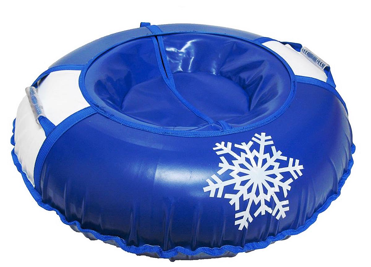 Санки надувные Иглу Снежинка, цвет: синий, белыйАрт2121123002622Любимая детская зимняя забава - это кататься с горки. Надувные санки Снежинка - это отличный вариант для тех, кто любит весело проводить время на свежем воздухе. Надувные санки Снежинка - это оригинальные круглые санки с простым дизайном, использованием износостойких материалов и комплектацией, достаточной для регулярного катания. Санки оборудованы плотной лентой для удобной буксировки. Комплектация: автомобильная камера согласно техническим условиям, упаковочный чехол, инструкция по эксплуатации на русском языке. Диаметр в накаченном состоянии: 90 см. Используемые камеры: R-15. Рекомендованное давление 0.1 Атм. УВАЖАЕМЫЕ КЛИЕНТЫ! Просим обратить ваше внимание на тот факт, что санки поставляются в сдутом виде и надуваются при помощи насоса (насос не входит в комплект).
