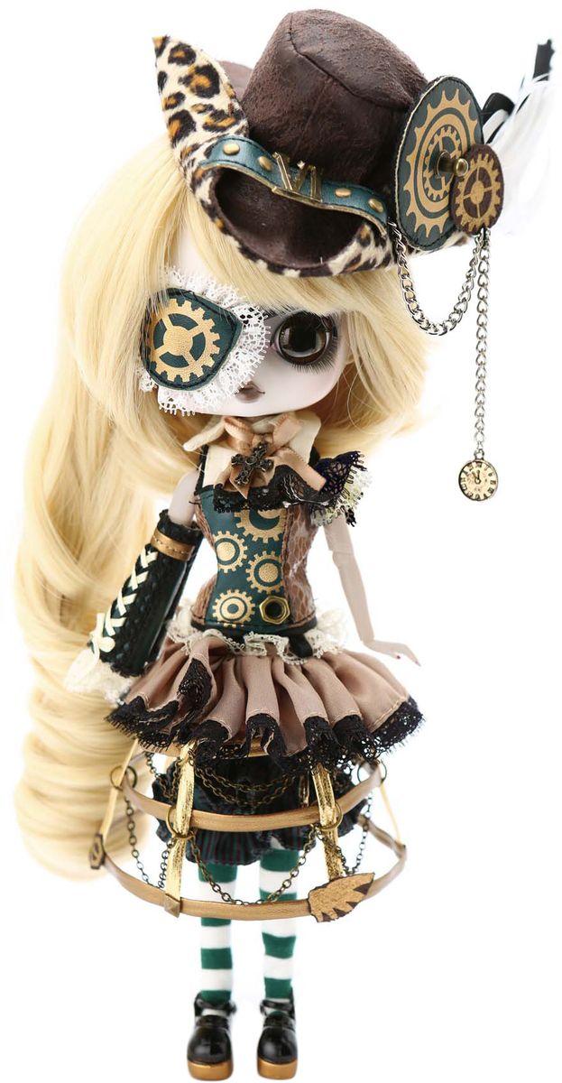 Groove Кукла Byul Стимпанк МойраGRVB324Дизайнерские куклы от японской компании Groove могут похвастаться множеством подвижных шарнирных соединений, своей собственной историей и уникальным внешним видом — каждая кукла из этой серии обладает индивидуальной причёской и макияжем. С помощью специального механизма, расположенного в голове, можно изменять направление взгляда и закрывать глаза. В комплекте: шляпа, подставка Материал: пластик, текстиль Высота: 26 см