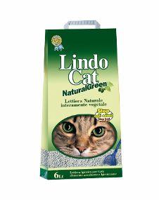Наполнитель для кошек на основе ячменя LindoCat NaturalGreen 6L016