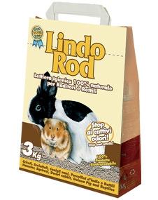 Наполнитель для мелких животных LindoRod 3 kg