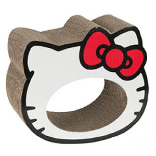 Картонная когтеточка Hello Kitty, 26*23*13см6003