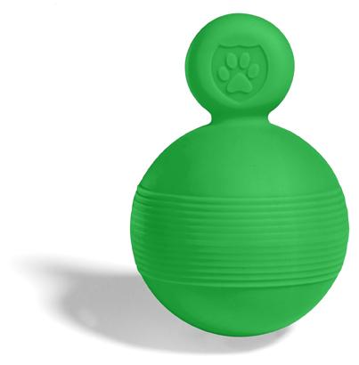 Игрушка мяч Tug&Toss Boll Safe, - Маленькая, зеленый 8 см.