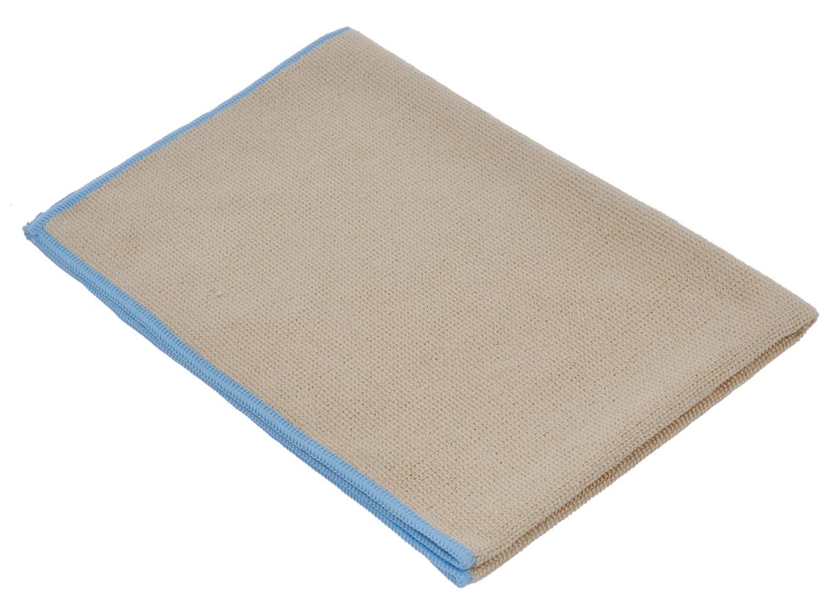 Тряпка для пола Arix, из микрофибры, цвет: бежевый, голубой, 40 см х 60 смAR28484Тряпка для пола Arix изготовлена из микрофибры. Тончайшие волокна, из которых она состоит, глубоко очищают без моющих средств, удаляя и задерживая грязь, жир, смазку, проникая в самые труднодоступные места. Чистит быстро, эффективно, экономит ваши средства! Мягкая, прочная, легко прополаскивается в воде, можно использовать вместе с любой щеткой. Подходит для всех типов полов.