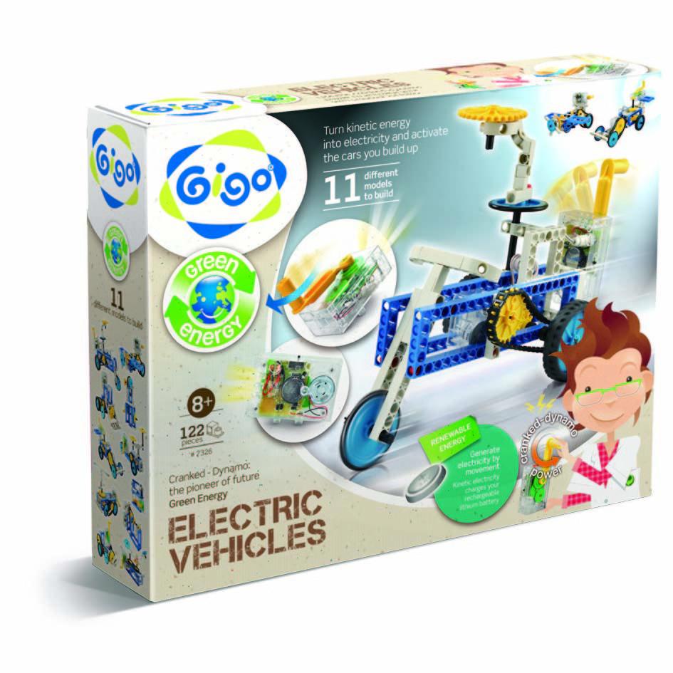 Gigo Конструктор Electric venicle (Гиго. Электрические машины)