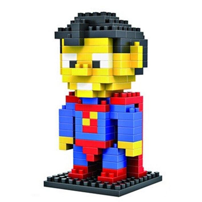 Loz Конструктор Diamond Block Супер Мужик9152Конструктор Diamond Block Супер Мужик привлечет внимание любителей комиксов и прекрасно подойдет в качестве подарка как взрослому, так и ребенку.
