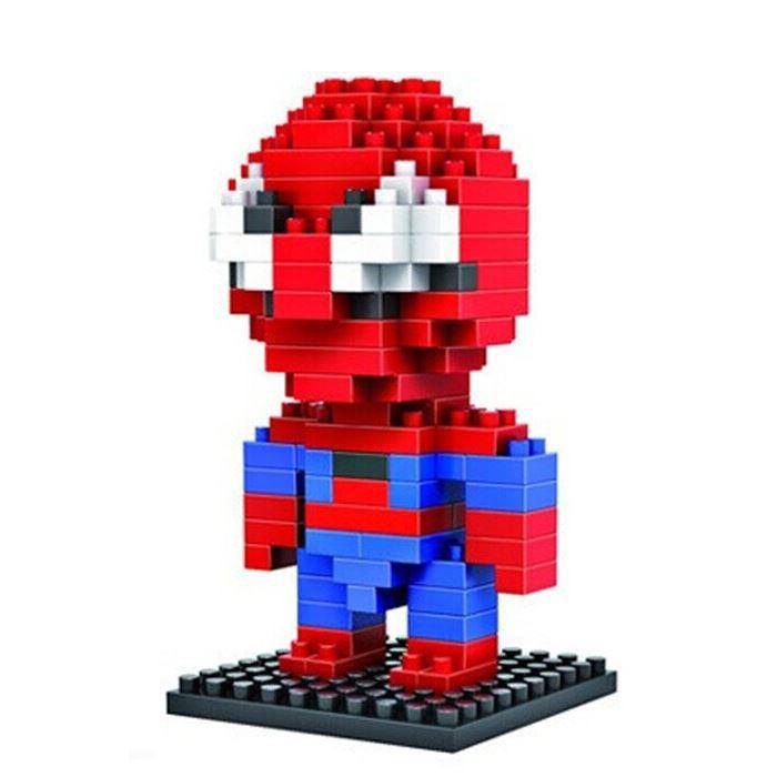 Loz Конструктор Diamond Block Воин паук