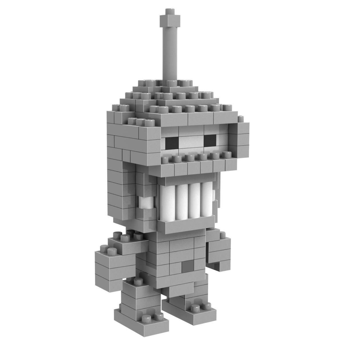 Loz Конструктор Diamond Block Робот Бендер9310Конструктор Diamond Block Робот Бендер привлечет внимание любителей мультипликационного сериала Футурама и прекрасно подойдет в качестве подарка как взрослому, так и ребенку.