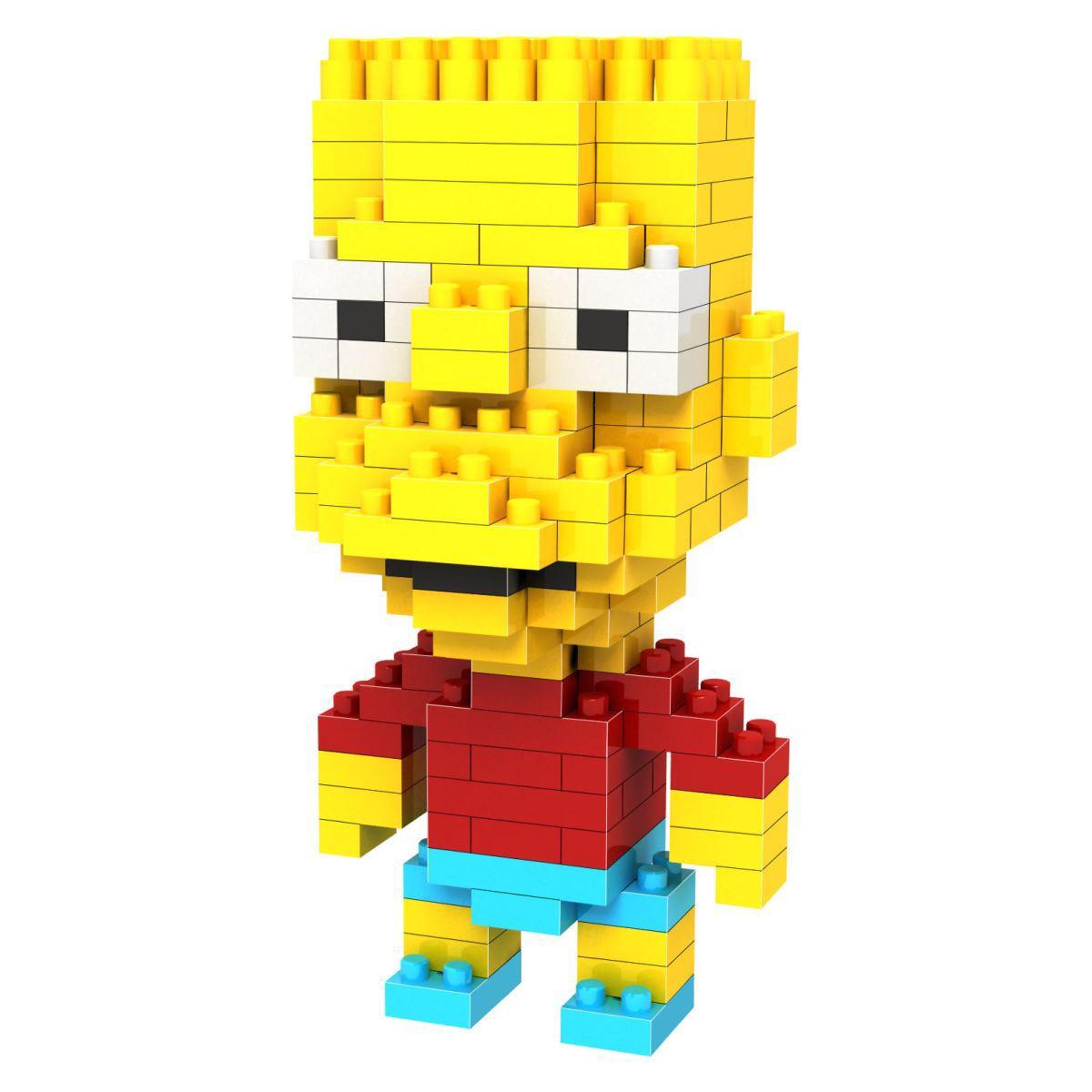 Loz Конструктор Diamond Block Барт - реальный пацан9337Конструктор Diamond Block Барт - реальный пацан привлечет внимание любителей популярного мультфильма Симпсоны и прекрасно подойдет в качестве подарка как взрослому, так и ребенку.