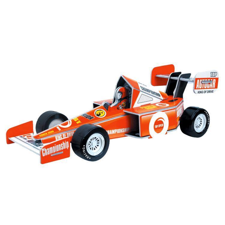 Education Line Конструктор 3D Action Puzzle (Экшн Пазл) Гоночная машинка XL, цвет красныйD029332Для юного гонщика станет прекрасным подарком Конструктор 3D Action Puzzle (Экшн Пазл) Гоночная машинка XL. Цвет: красный.