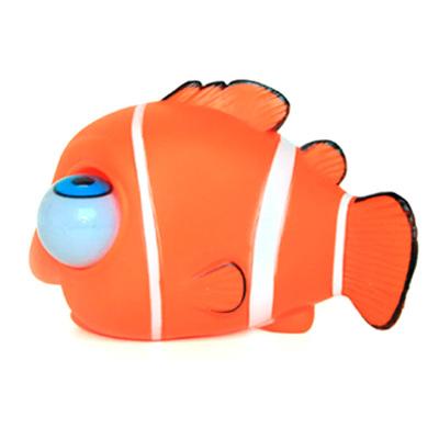 Family Fun Антистресс Пучеглазик. Клоун ФландерPCHG0005Всем известно, что рыбки успокаивают нервы. Пучеглазик Клоун Фландер - необычная рыбка. Очень веселая антистрессовая игрушка понравится как детям, так и взрослым.