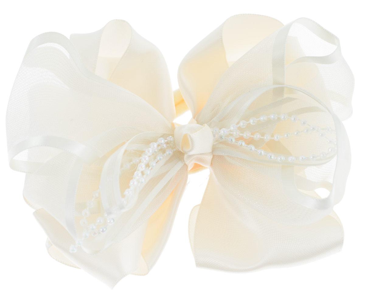 Резинка для волос Baby's Joy, цвет: кремовый. MN 61