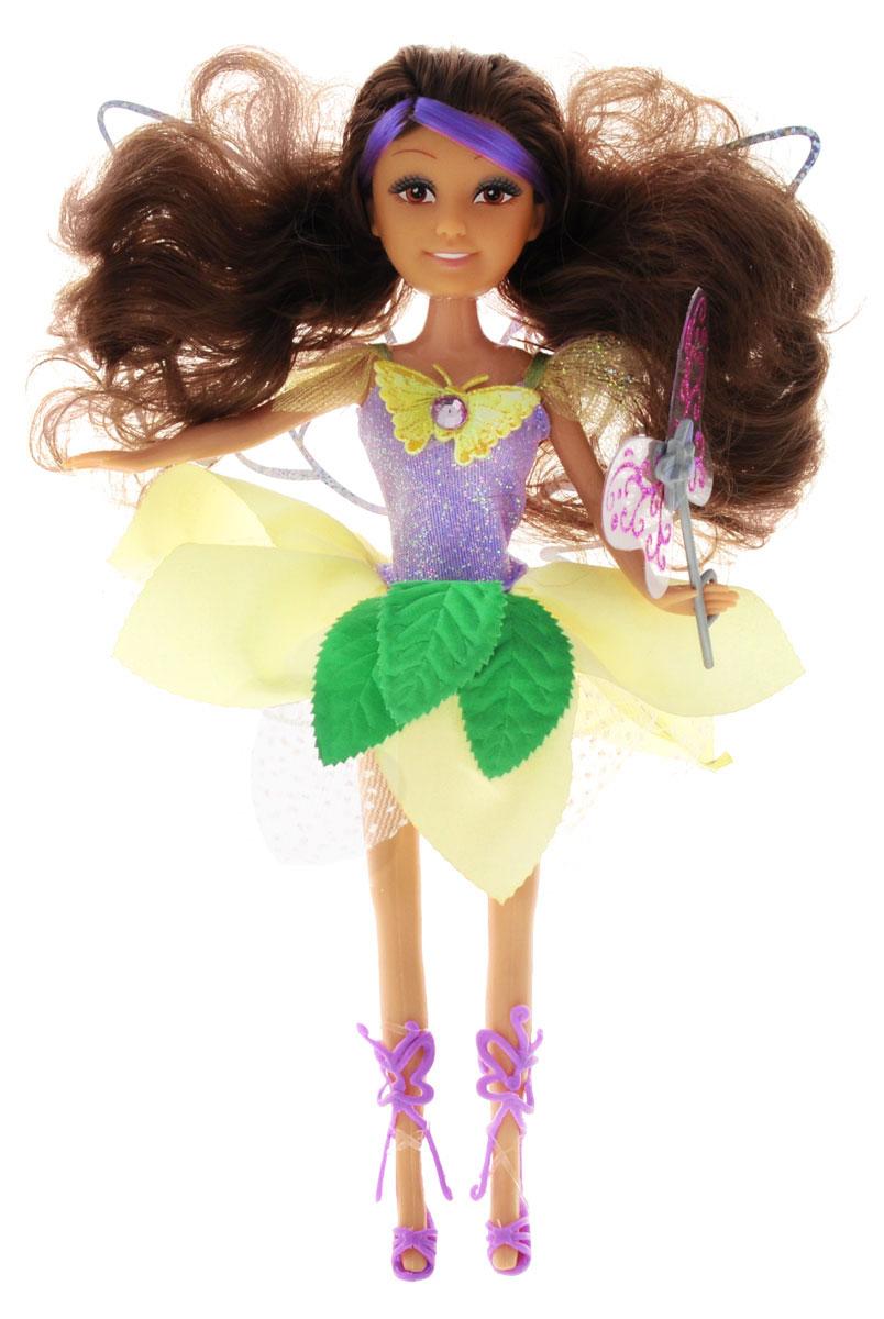ABtoys Кукла Волшебная мелодия240347Великолепная кукла ABtoys Волшебная мелодия обязательно порадует вашу малышку и доставит ей много удовольствия от часов, посвященных игре с ней. Куколка с густыми темными волосами одета в шикарное фиолетово-желтое платье, украшенное листочками. Ножки, голова и ручки куколки подвижны, а волосы можно расчесывать. При нажатии на кнопку на животике куклы раздастся волшебная мелодия. Вместе с куклой в наборе предлагается волшебная палочка. Brilliance Fair - милые подружки! Эти девочки могут развлекаться и никогда не устают друг от друга! Их невероятно привлекательные наряды делают их абсолютными королевами любой вечеринки! Кукла станет настоящей подружкой для своей юной обладательницы! Порадуйте свою малышку таким великолепным подарком! Для работы игрушки необходимы 3 батарейки типа LR44 (товар комплектуется демонстрационными).