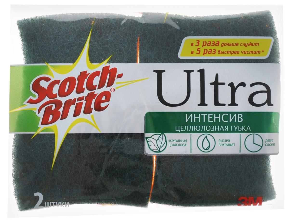 Губка для мытья посуды Scotch-Brite Ультра интенсив, 2 штXF-0045-0436-1Набор Scotch-Brite Ультра интенсив состоит из 2 губок. Предназначены для интенсивной чистки и удаления сильных загрязнений с посуды (противни, решетки-гриль, кастрюли). Для удобства применения с одной стороны губки нанесен абразивный слой. Не рекомендуется использовать для деликатных поверхностей. Губки сохраняют чистоту и свежесть даже после многократного применения, а их эргономичная форма удобна для руки. Размер губки: 10 см х 7 см х 2,5 см.