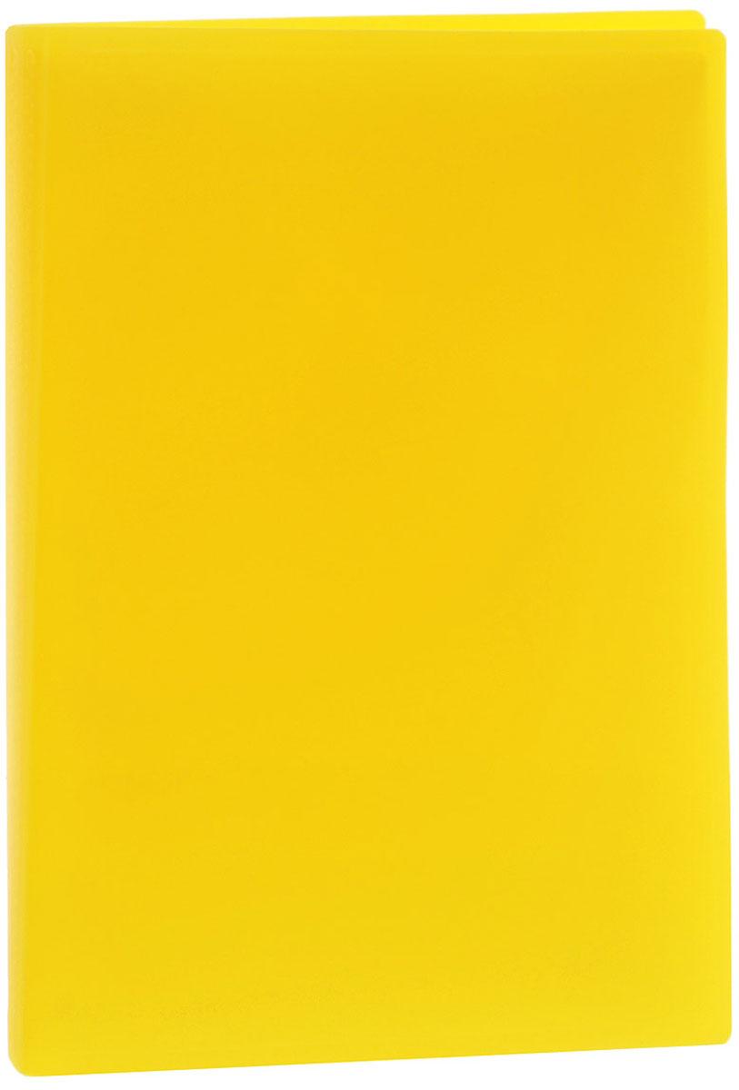 Erich Krause Папка с файлами 40 листов цвет желтый31017_желтыйПапка Erich Krause содержит 40 прозрачных файлов-вкладышей. Она идеально подходит для хранения рабочих бумаг и документов формата А4 без перфорации, требующих упорядоченности и наглядного обзора: отчетов, презентаций, коммерческих и персональных портфолио. Папка выполнена из прочного пластика с гофрированной поверхностью в ярком цвете. Благодаря совершенной технологии производства папка не подвергается воздействию низкой температуры, не деформируется и не ломается при изгибе и транспортировке.