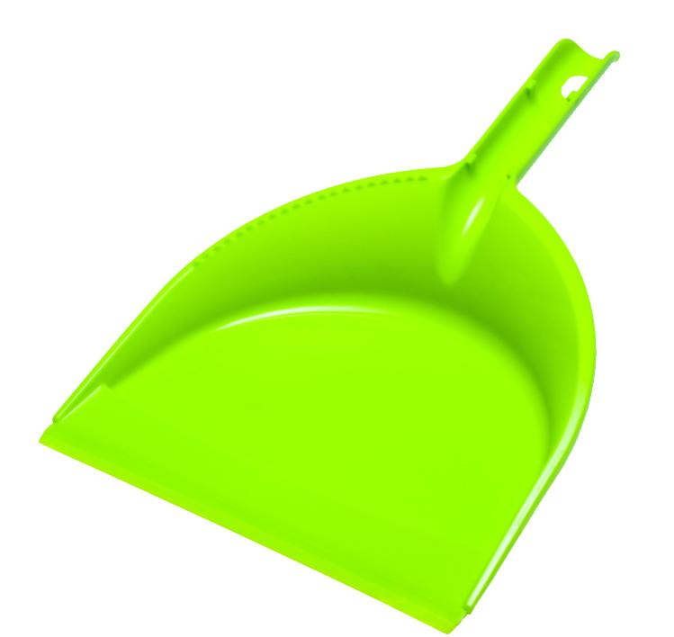 Совок York Клип, цвет: салатовый6103Совок York Клип предназначен для сбора мусора и пыли при уборке помещений. Совок выполнен из прочного полимера, имеет удобную эргономическую ручку с отверстием для подвеса. Длина совка: 32 см. Ширина совка: 21 см.