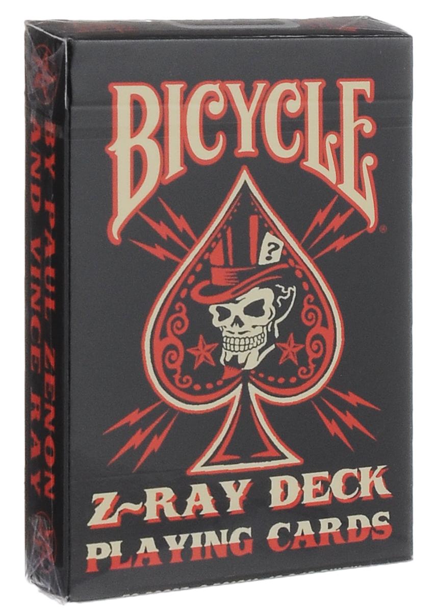 Карты игральные Bicycle Karnival ZRay, цвет: черный, красный, белыйК-266Карты Bicycle Karnival ZRay изготовлены из высококачественного картона. Этими картами можно играть в любые карточные игры или показывать фокусы, но, в то же время, они имеют уникальный, совсем необычный дизайн. Карты выполнены в стиле ретро: здесь можно встретить и татуировки, и андеграундные комиксы. На лицевых сторонах и рубашках карт представлены дизайнерские работы. Такие игральные карты превосходно подойдут как для игры, так и для личной коллекции.