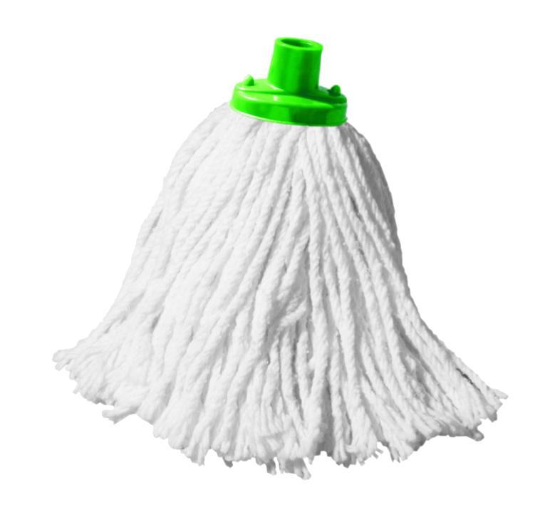 Насадка для швабры York Люкс, сменная, цвет: белый, зеленый7305Сменная насадка для швабры York Люкс изготовлена из хлопка и пластика. Насадка отлично удаляет большинство жирных и маслянистых загрязнений без использования химических веществ. Насадка идеально подходит для мытья всех типов напольных покрытий. Она не оставляет разводов и ворсинок. Сменная насадка для швабры York Люкс станет незаменимой в хозяйстве. Длина насадки: 31 см.