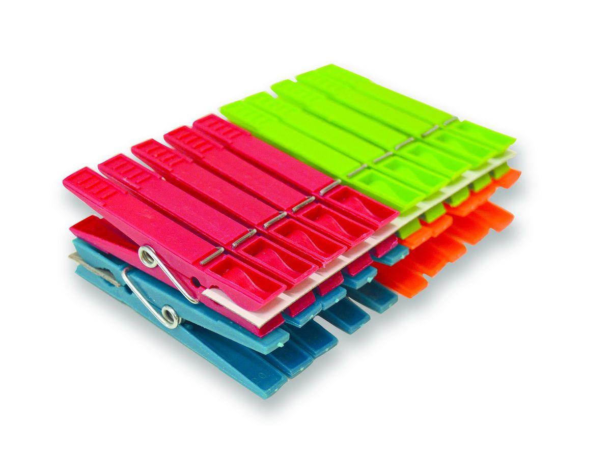 Прищепки для белья York Standard, 20 шт9600Прищепки York Standard, изготовленные из разноцветного пластика и металла, станут незаменимы для любой хозяйки. Теперь домашние хлопоты будут приносить вам удовольствие. Длина прищепки: 7 см.