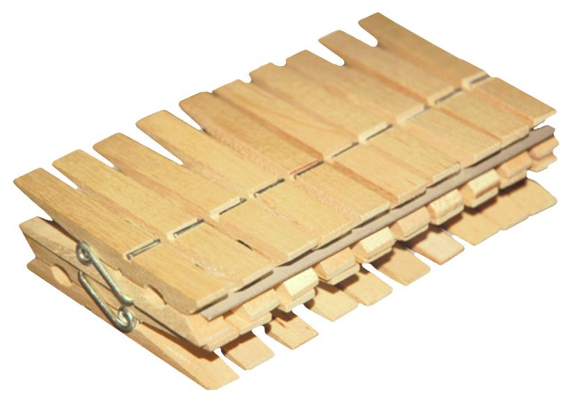 YORK Прищепки Эко деревянные 20шт.. 9605 ( 9605 )